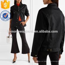 Ropa de gran tamaño de la chaqueta de dril de algodón al por mayor de la moda de las mujeres (TA3030C)