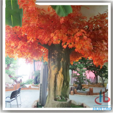 Red Artificial Maple Tree