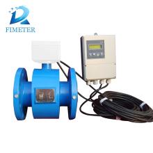 """medidor de vazão da conexão da braçadeira Medidor de vazão eletromagnético da flange de 3 """"'"""