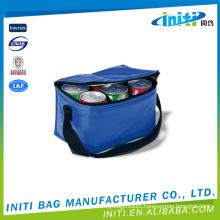 Factory supply waterproof reusable plastic wine bottle cooler bags