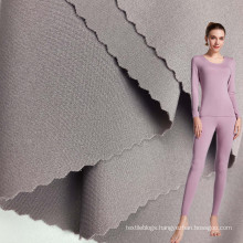 2021 new knitted 230gsm double face nylon sports seamless with spandex fabric