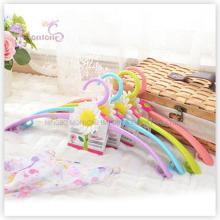 PP пластичный цветок многоцелевой вешалка для одежды набор из 2-х (42*19см)