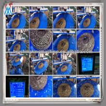 machine de forage de bois / machine de brosse de disque / machine de forage en bois