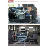 Doosan 200kva Electric power diesel generator set price 160kw diesel generator for sale