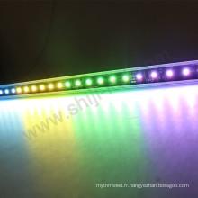 La couleur légère de DMX changeant la barre en aluminium de la vente