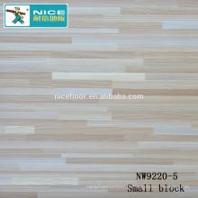 NWseries Três pedaços de carvalho Piso de madeira Parquet projetado Parquet Flooring