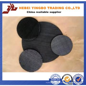 3,0 мм 3 '' X 3 '' черная аппаратная ткань с покрытием из ПВХ