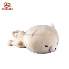 Wholesale super fofo deitado gato mini brinquedo de pelúcia