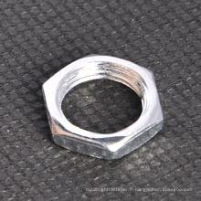 Ecrou mince hexagonal pour éclairage (CZ422)