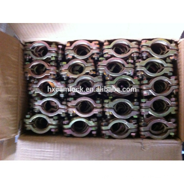 china supplier carbon steel double bolt heavy duty clamp