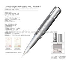 2016 hot sell Goochie M9 digital permanent makeup tattoo machine for eyebrow and lip Embroidery set kits