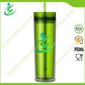 16 Oz Promotional Acrylic Straw Cup, BPA-Free