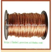 Flexible grounding conductivity copper wire