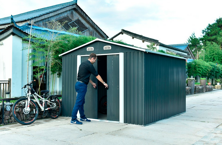 Small Metal Shed
