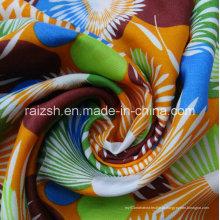 Moda girassóis de tecido de chiffon para venda por atacado