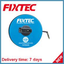 Fixtec Handwerkzeuge 50m ABS Kunststoff Fiberglas Messband