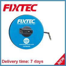 Fixtec Hand Tools 50m ABS Plásticos Fiberglass Fita de medição