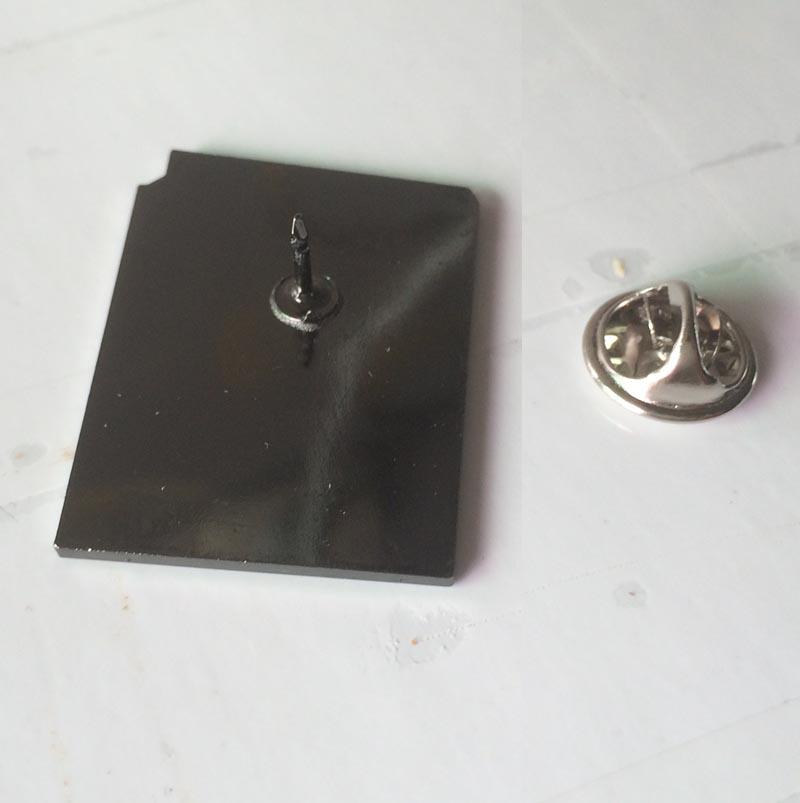 Cute Enamel Trendy Bury Book Brooches Pins