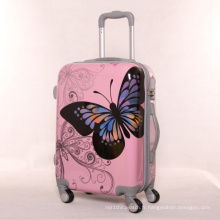 New Butterfly Luggage Pull Suitcase Suitcase Universal Wheel Chassis 2024 pouces