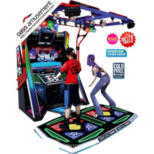 Máquina de jogo de dança