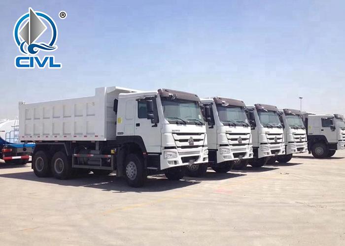Sinotruk 6x4 Dump Truck Howo Tipper 18 01