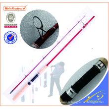 BAS001 Graphite Canne à pêche Blanc Canne À Pêche Weihai OEM Carbone Basse Canne À Pêche
