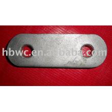 materiales forjados galvanizados-placa de yugo