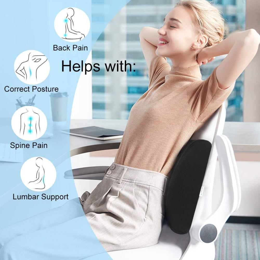Memory Foam Lumbar Support Cushion