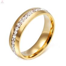 2017 nouveau modèle anneau de mariage en acier titane pour couple