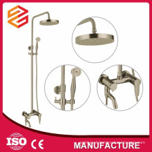shower room set massage brass shower set sliding bar