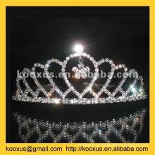 Tiara de la dama de honor y corona