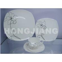 Juego de té de hueso de China (HJ068001)