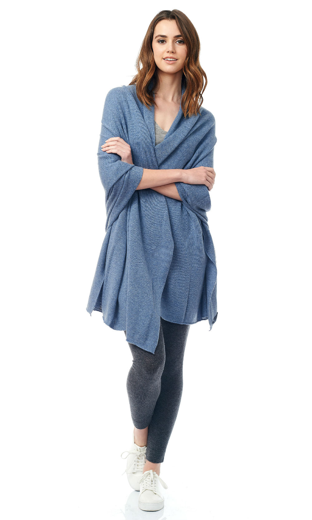 blue jersey knit travel wrap (1)