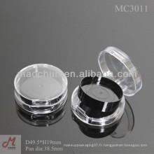 MC3011 Rond transparent transparent compact ombre panoramique