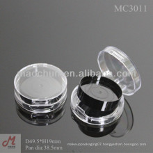 MC3011 Round transparent empty compact eyeshadow pan