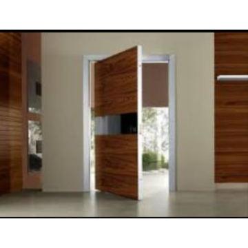 Projeto da porta da madeira maciça, porta de entrada principal, porta da sala do folheado