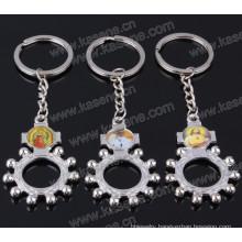 Wholesale Alloy Religious Keychain Rosary Keyring Pendant