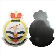 Imán suave de encargo del refrigerador del PVC para la marina de guerra Malasia (FM-09)