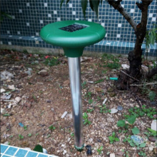 Solarenergie-Schallwellen-Antriebs-Schlange im Freien
