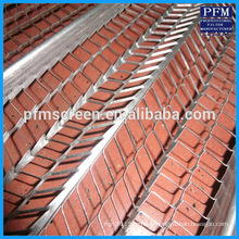 Expanded metal lath for plaster a wall