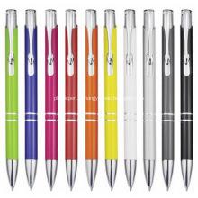 Пользовательские рекламные алюминиевые шариковые ручки с логотипом