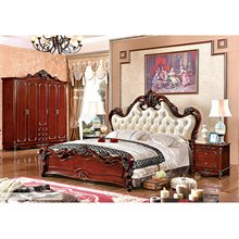 China Factory Luxury French Style Bedroom Furniture Set (A6007)