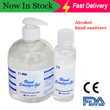 Antibacterial Hand Wash Alcohol Disinfection Waterless Hand Sanitizer Gel in Stock