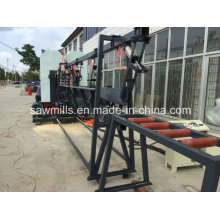 Double Head Vertical Band Saw Wood Cutting Sawmill Woodworking Machine