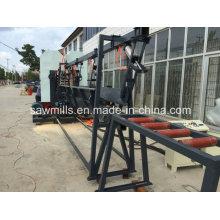 A faixa vertical principal dobro considerou a máquina de madeira do Woodworking de Sawmill do corte