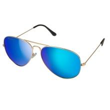 Óculos de sol de metal clássico para homens-- Air Force 1950 (16114)