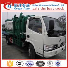 DFAC 5m3 camión de basura auto basculante