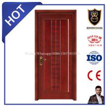 Material de construcción de construcción de ventas caliente Último diseño de puerta de madera de casa principal