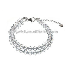 Clear Crystal Bracelet For Gift