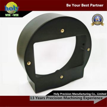 Serviço fazendo à máquina plástico fazendo à máquina do CNC das peças do CNC do ABS da capa de lente